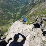 Klettersteig Abgang