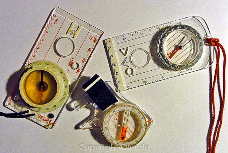 Kompass Variationen
